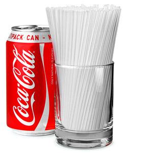Sip Straws 5inch Clear