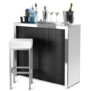 Hollywood Home Bar Black