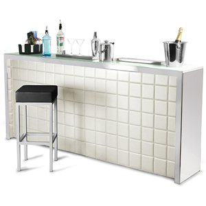 Hollywood Home Bar Large Cream