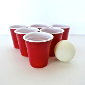 Mini Red Party Shot Cups 2oz / 60ml