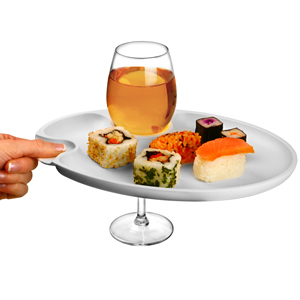 Wine and Dine Party Plate