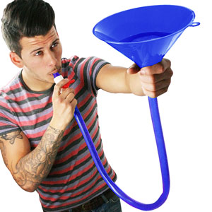 Beer Bong Funnel