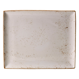 Steelite Craft Rectangular Platter White 33 x 27cm