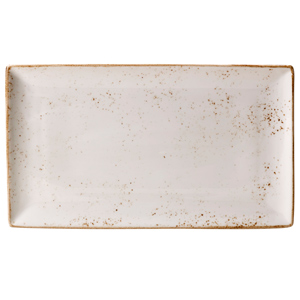 Steelite Craft Rectangular Platter White 33 x 19cm
