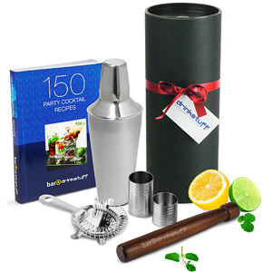 Valentines Luxury Manhattan Cocktail Shaker Set