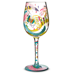 Lolita Social Butterfly Wine Glass 15.5oz / 440ml