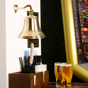Brass Last Orders Bell Large 7inch / 180mm