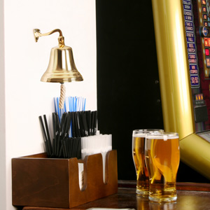 Brass Last Orders Bell Small 3.5inch / 90mm