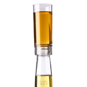 Plastic Shot Glass Bottle Topper 2oz / 60ml