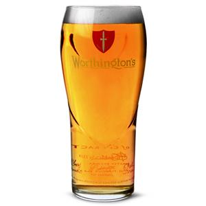 Worthington's Pint Glasses CE 20oz / 568ml