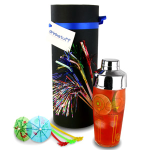 Luxury Recipe Cocktail Shaker Set