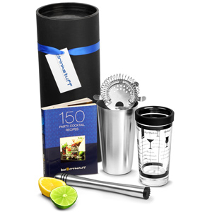 Luxury Cocktail Recipe Set