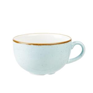 Churchill Stonecast Duck Egg Cappuccino Cup 8oz / 227ml