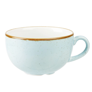 Image of Churchill Stonecast Duck Egg Cappuccino Cup 16oz / 460ml (Case of 6)