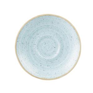 """Churchill Stonecast Duck Egg Espresso Saucer 4.5"""" / 11.8cm"""