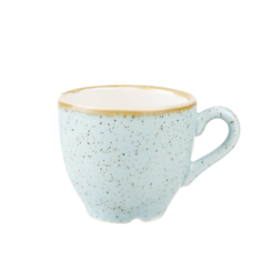 Churchill Stonecast Duck Egg Espresso Cup 3.5oz / 100ml
