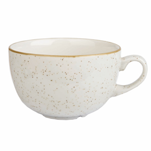Image of Churchill Stonecast Barley White Cappuccino Cup 17.5oz / 500ml (Case of 6)
