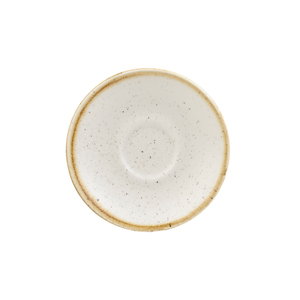 Churchill Stonecast Barley White Espresso Saucer 4.5 Inches / 11.8cm