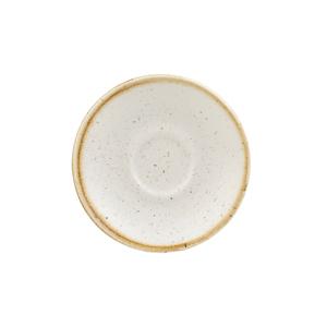 Churchill Stonecast Barley White Espresso Saucer 4.5 Inches / 11.8cm