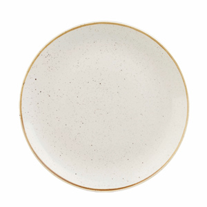 Churchill Stonecast Barley White Coupe Plate 10.25 Inches / 26cm