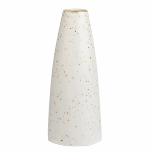 Churchill Stonecast Barley White Bud Vase 5 Inches / 12.5cm