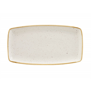 Churchill Stonecast Barley White Oblong Plate 13.75 Inches / 35cm