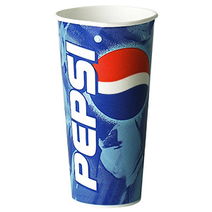 Pepsi Paper Cups 22oz / 630ml