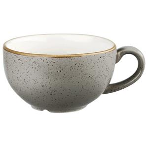 Churchill Stonecast Peppercorn Grey Cappuccino Cup 8oz / 227ml