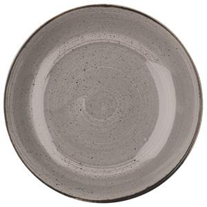 Churchill Stonecast Peppercorn Grey Coupe Bowl 12 Inch / 31cm