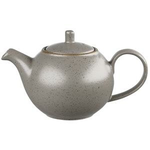 Churchill Stonecast Peppercorn Grey Tea Pot 15oz / 425ml