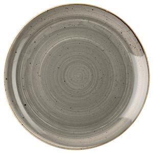 Churchill Stonecast Peppercorn Grey Coupe Plate 6.5 Inch / 16.5cm