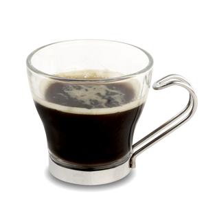 Deborah Glass Espresso Cup 3.75oz  110ml (Pack of 6)
