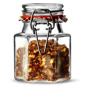 Kilner Hexagonal Clip Top Spice Jar 90ml