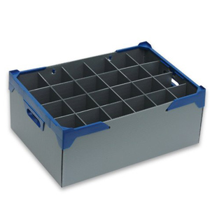 Glass Jack Wine Glass Storage Box 24 Compartments 190mm