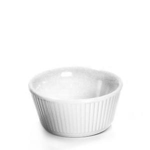 Fluted Melamine Ramekins 3oz White