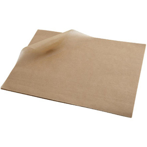 Greaseproof Paper Brown 35cm x 25cm
