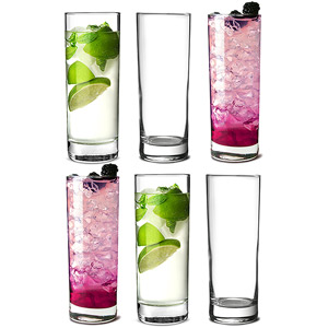 Islande Hiball Glasses 127oz 360ml Set Of 6