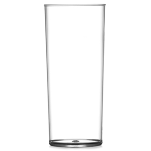 Elite Premium Polycarbonate Hiball Glasses 12oz LCE at 10oz