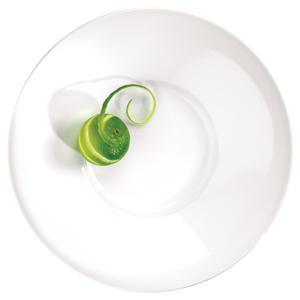 Art de Cuisine Menu Broad Rim Dessert Plate 11 Inches / 28cm