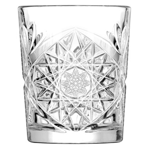 Hobstar Double Old Fashioned Glasses 12oz / 340ml