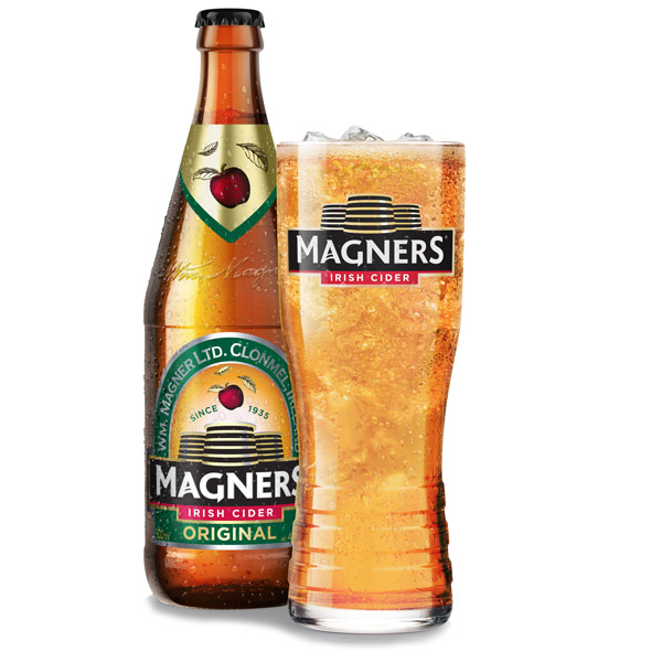 Set Of 4 Magners Half Pint Glasses
