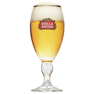 Stella Artois International Chalice Half Pint Glasses 10oz  280ml (Pack of 6)