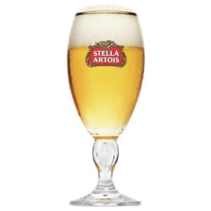 Stella Artois International Chalice Half Pint Glasses 10oz  280ml (Pack of 6)
