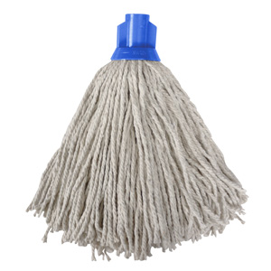 Colour Coded Blue Socket Mop Head