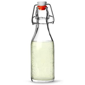 Genware Glass Swing Top Bottle 250ml