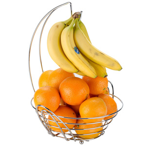 Meranda Fruit Basket with Banana Hanger