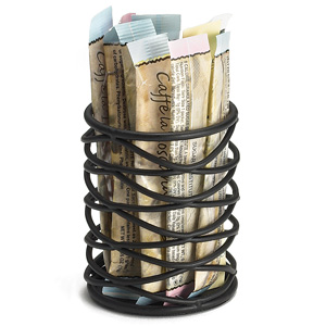 Artisan Round Sugar Caddy Basket