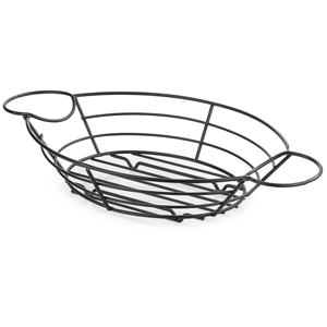 Meranda Oval Serving Basket with Ramekin Holders