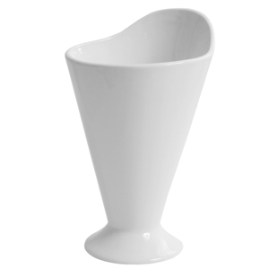 Moonlight Porcelain Serving Cone 12 x 20cm