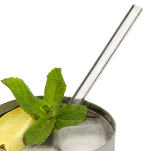 Glass Drinking Straws 6.25inch